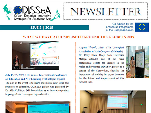 2nd Newsletter of ODISSeA Project (PDF - 613KB)